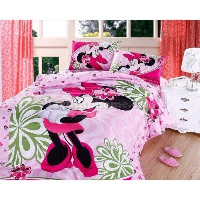 pink minnie mouse bedding sets this would be so cute in hannahs room