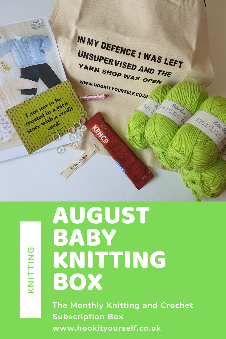 August Baby Knitting Box Knitting Subscription Baby Knitting Knitting