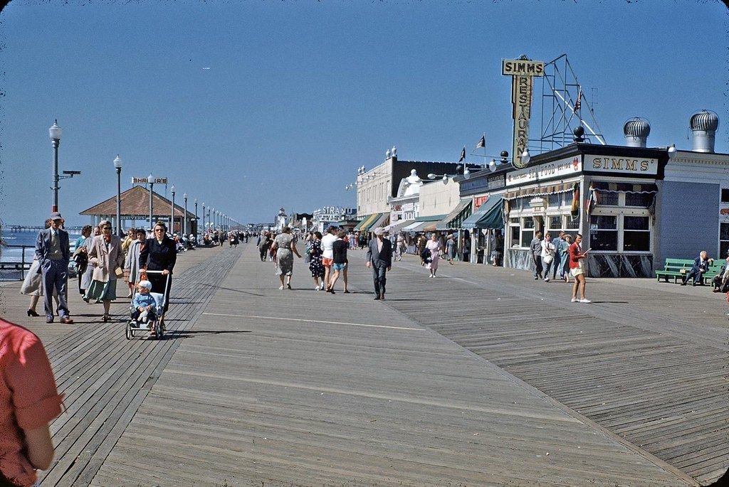 Ocean City, NJ boardwalk   Ocean city, Ocean, City