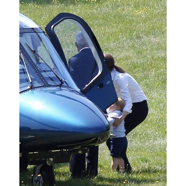 """I wanna go in the helicopter too!!"" PC: princegeorgepictures"
