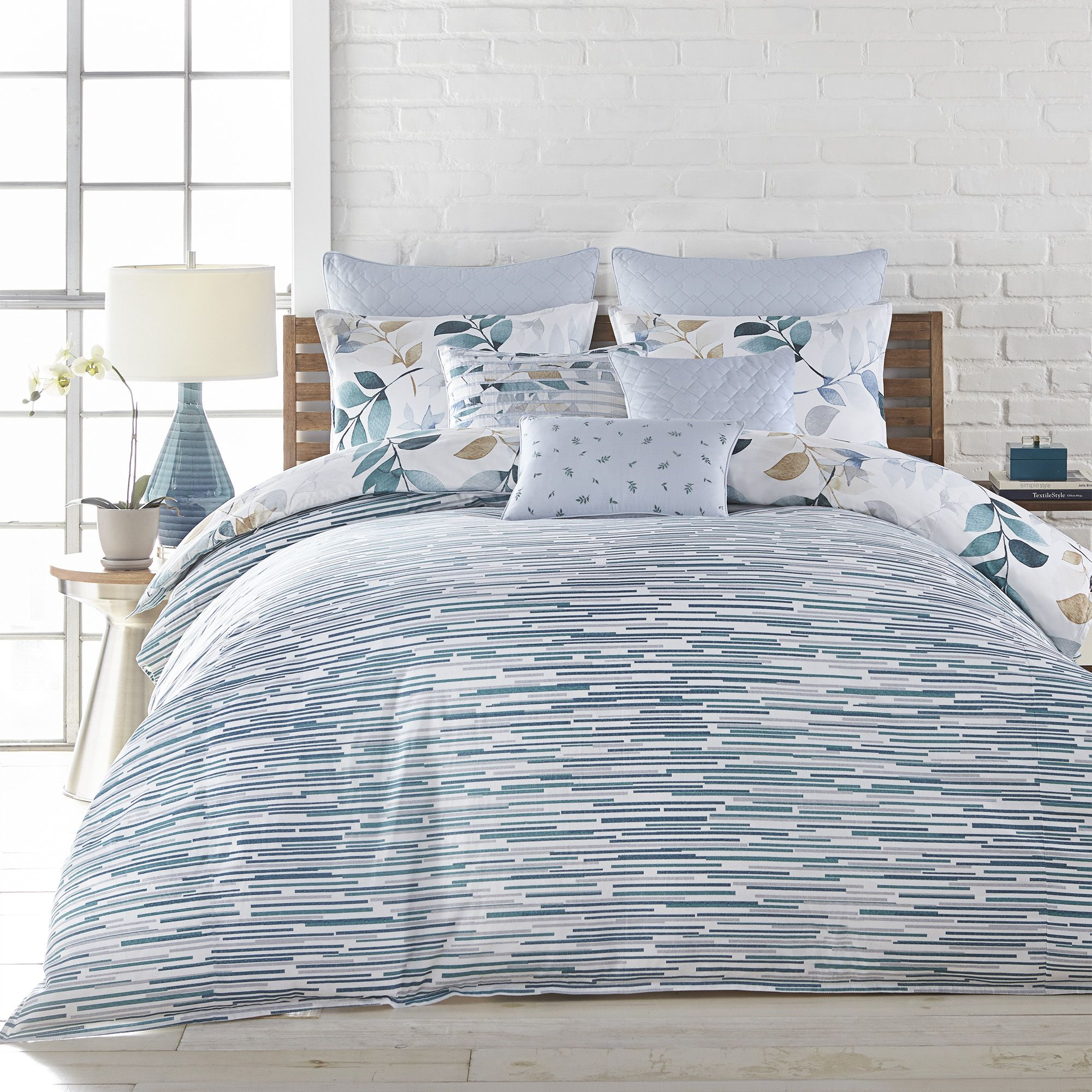 Lumia Bedding Collection In 2020 Blue Comforter Sets Light Blue Comforter Set Light Blue Comforter