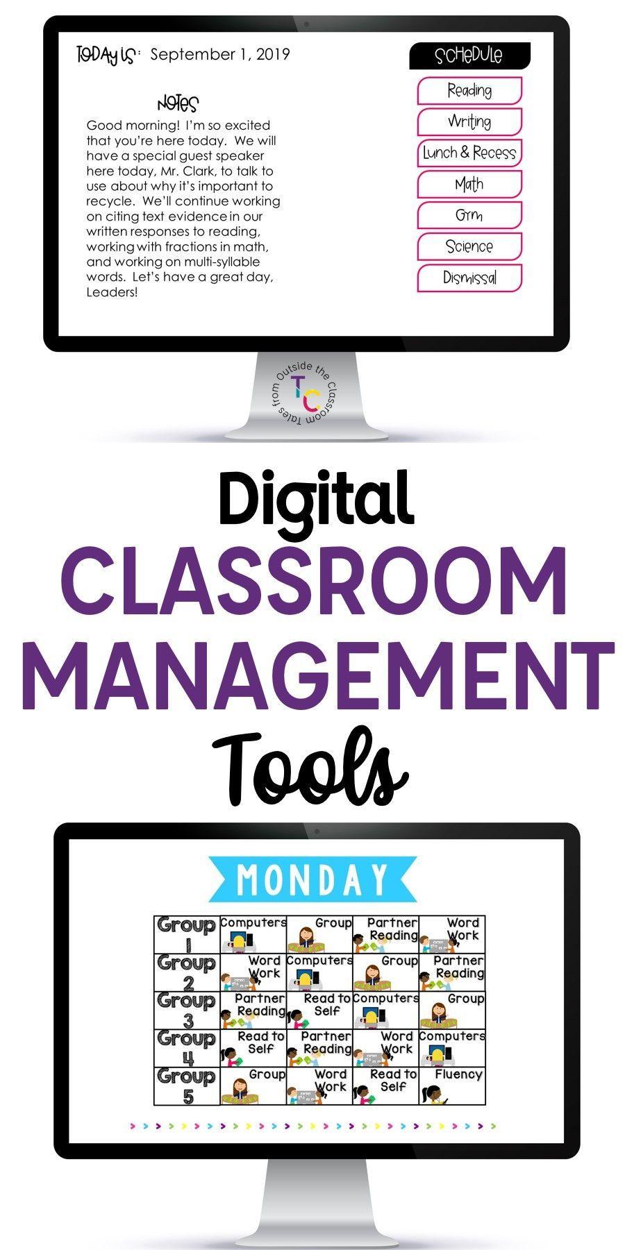 Digital Classroom Management Tools Classroom Management