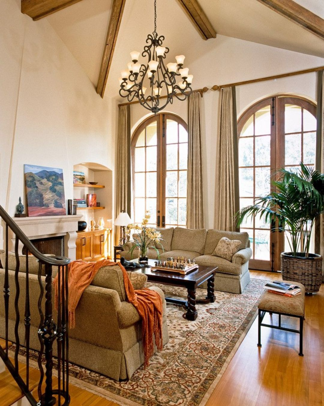 Traditional Living Rooms: 12 Charming Traditional Interior Designs For Your Simple
