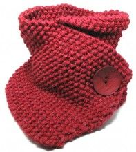Retro Knitted Neck Warmer