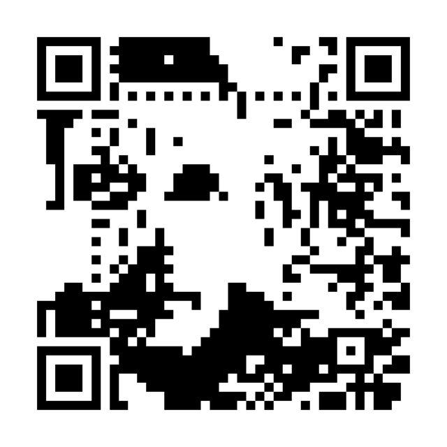 My QRface by QArtCoder