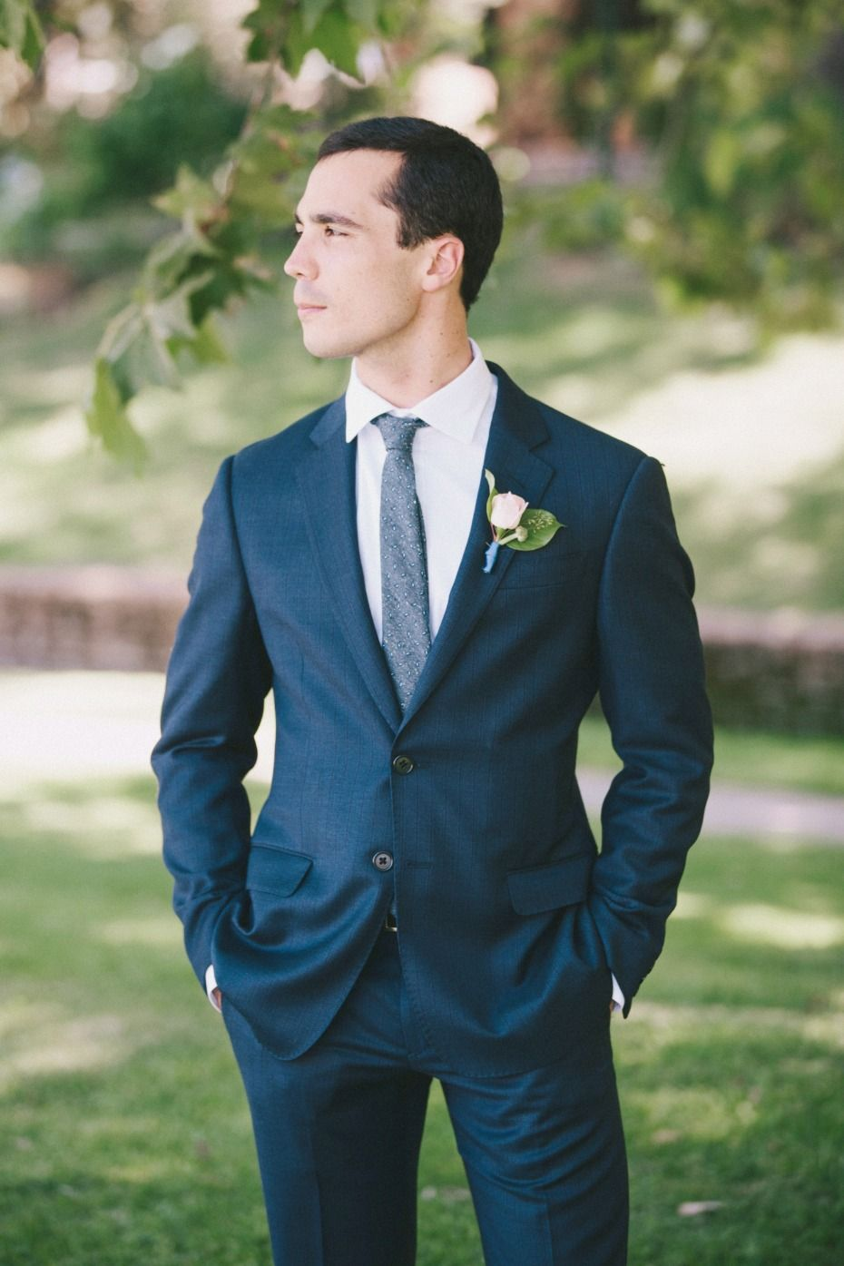 Think This Is A Classic Blush Wedding... Think Again! | Navy ...