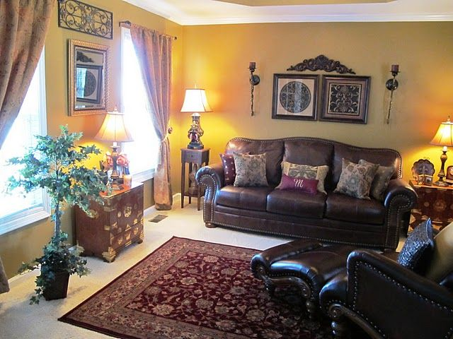 I Have The Same Rug, Does That Count? Tuscan Living RoomsLiving Room ...
