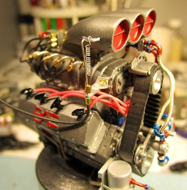 Model Car With Engine: Hemi Www.musclecarssanantonio.com