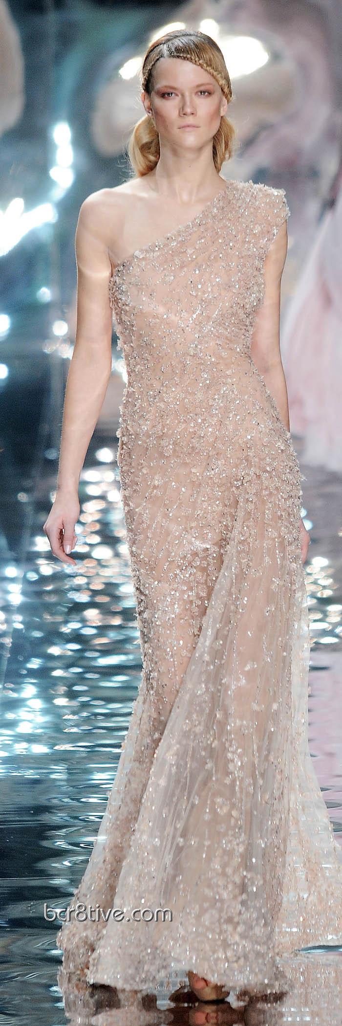 Elie Saab Spring Summer 2010 Haute Couture | Vestidos de noche ...