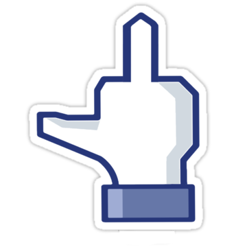 Middle Finger Facebook Symbols N Emoticons Cool And Miscellaneous