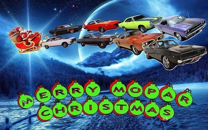 Merry Mopar Christmas Mopar Holidays Mopar Christmas Cars