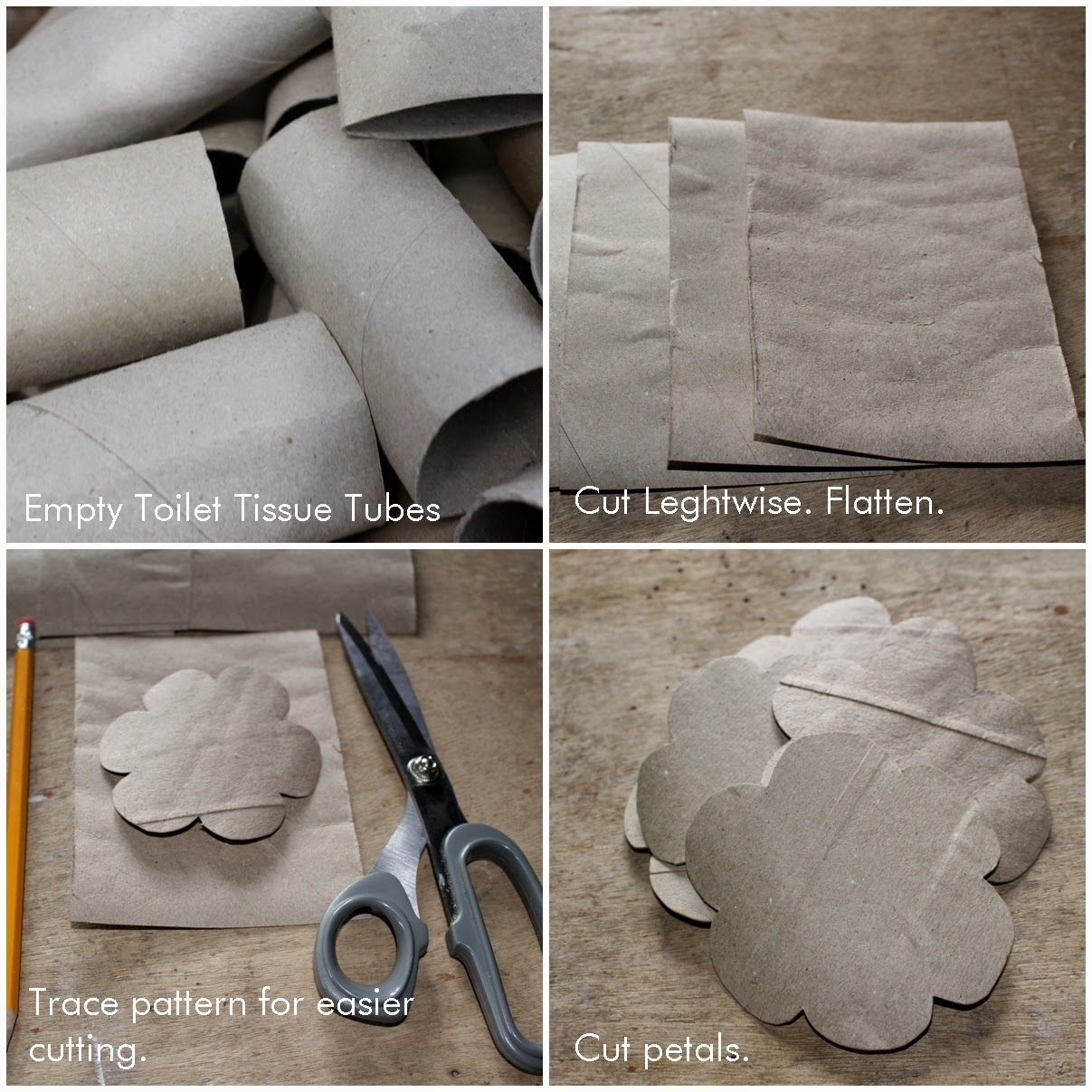 Diy How To Make Roses Using Empty Toilet Tissue Tubes Reduce Reuse Recycle Replenish Toilet Paper Roll Crafts Toilet Paper Roll Art Toilet Paper Crafts