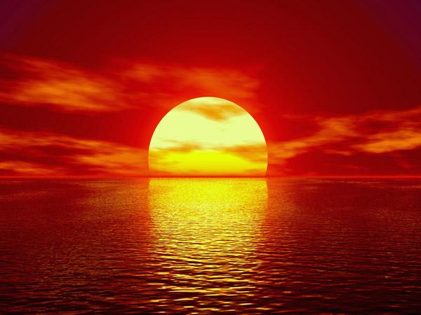 Puesta De Sol En La Playa Puesta De Sol Playa Puestas De Sol Orto