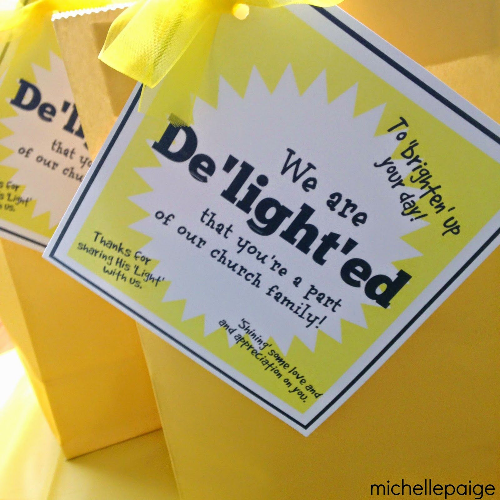 michelle paige: Delightful Pastor Appreciation Gifts ...