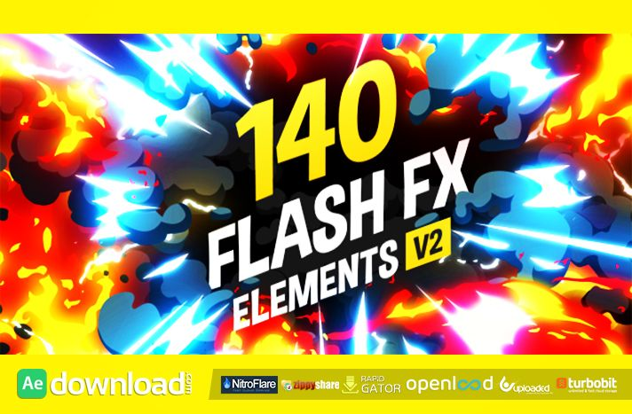 140 Flash FX Elements (Verion 2) Videohive - Free Download After ...