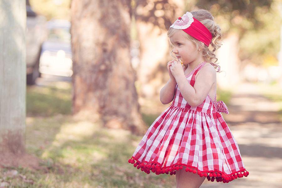 Little Sister Pom Pom Dress | Dollcake