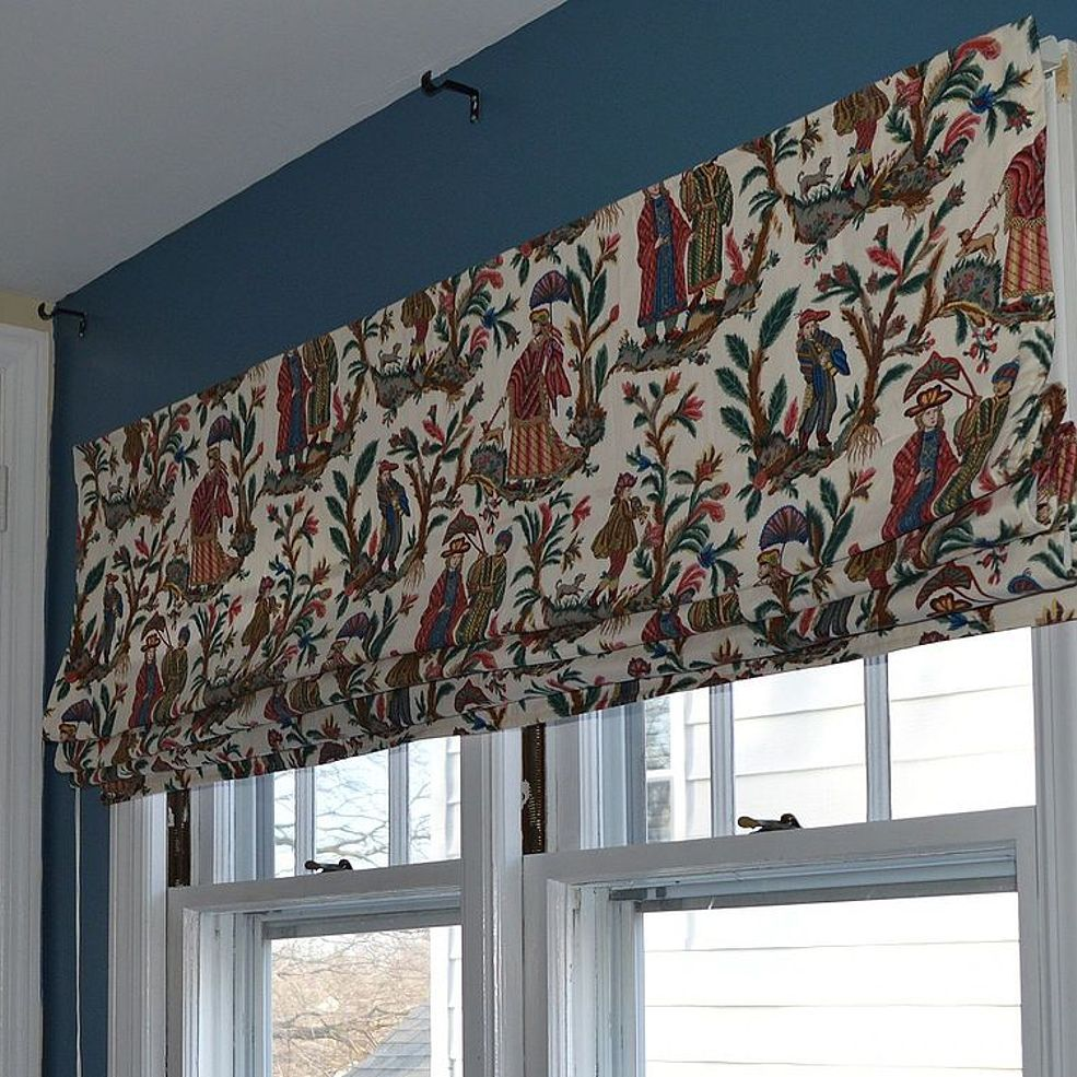 Diy Extra Wide Roman Shade Diy Roman Shades Fabric