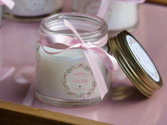 10 personalised candles baptism guest gift 11 graphics cadeau invit bapteme bougie. Black Bedroom Furniture Sets. Home Design Ideas