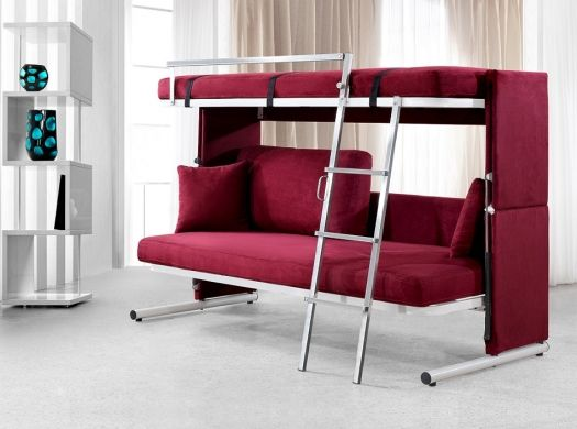 Love This For Grandchildren Visits Convertible Furniture Bed Ikea Bed Loft Bed With Couch