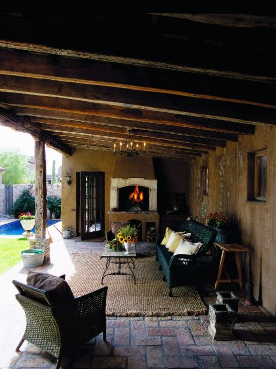 Ceiling, fireplace, outdoor area rug.