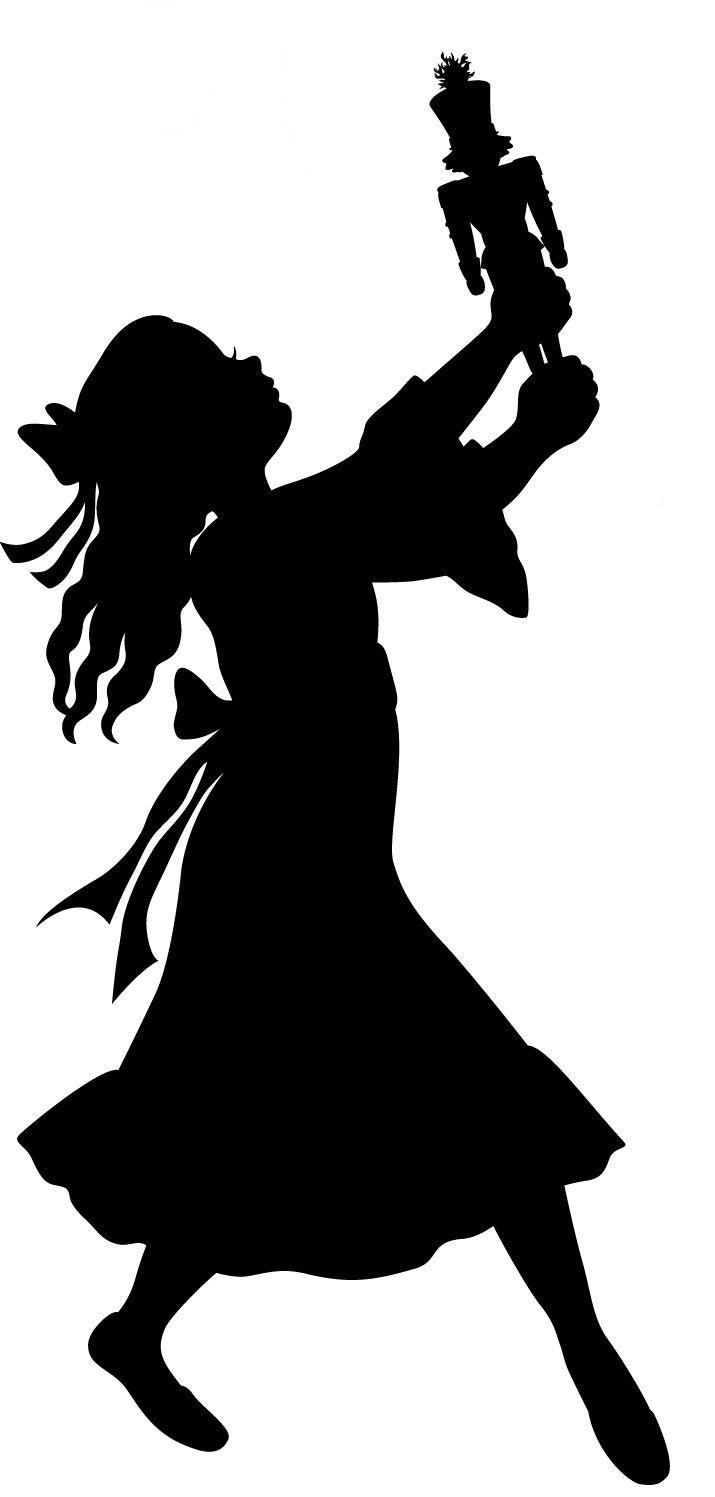 silhouette nutcracker google search pinteres rh pinterest com  nutcracker ballet clip art