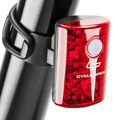 Cycle Torch Usb Rechargeable Bike Tail Light Microbot Led Bicycle