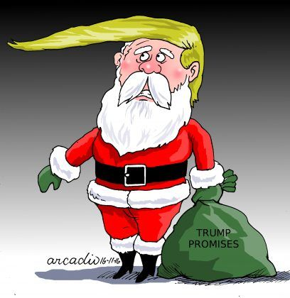 Navidad en tiempos de Trump.