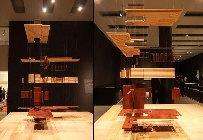 Situ Fabrication Architecture Model Architecture Exhibition Models