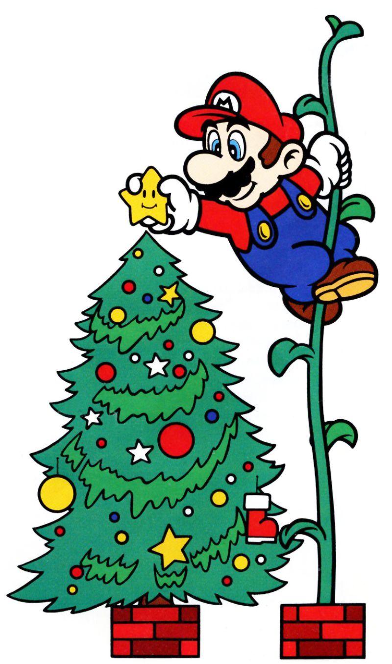 Super Mario World Christmas.Mario Christmas Star V Games Mario Luigi Super Mario