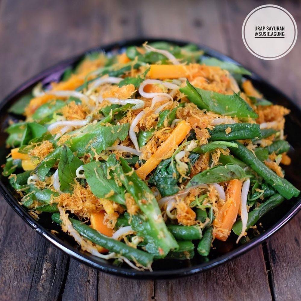 Resep Urap Sayur C 2020 Brilio Net Resep Masakan Masakan Resep