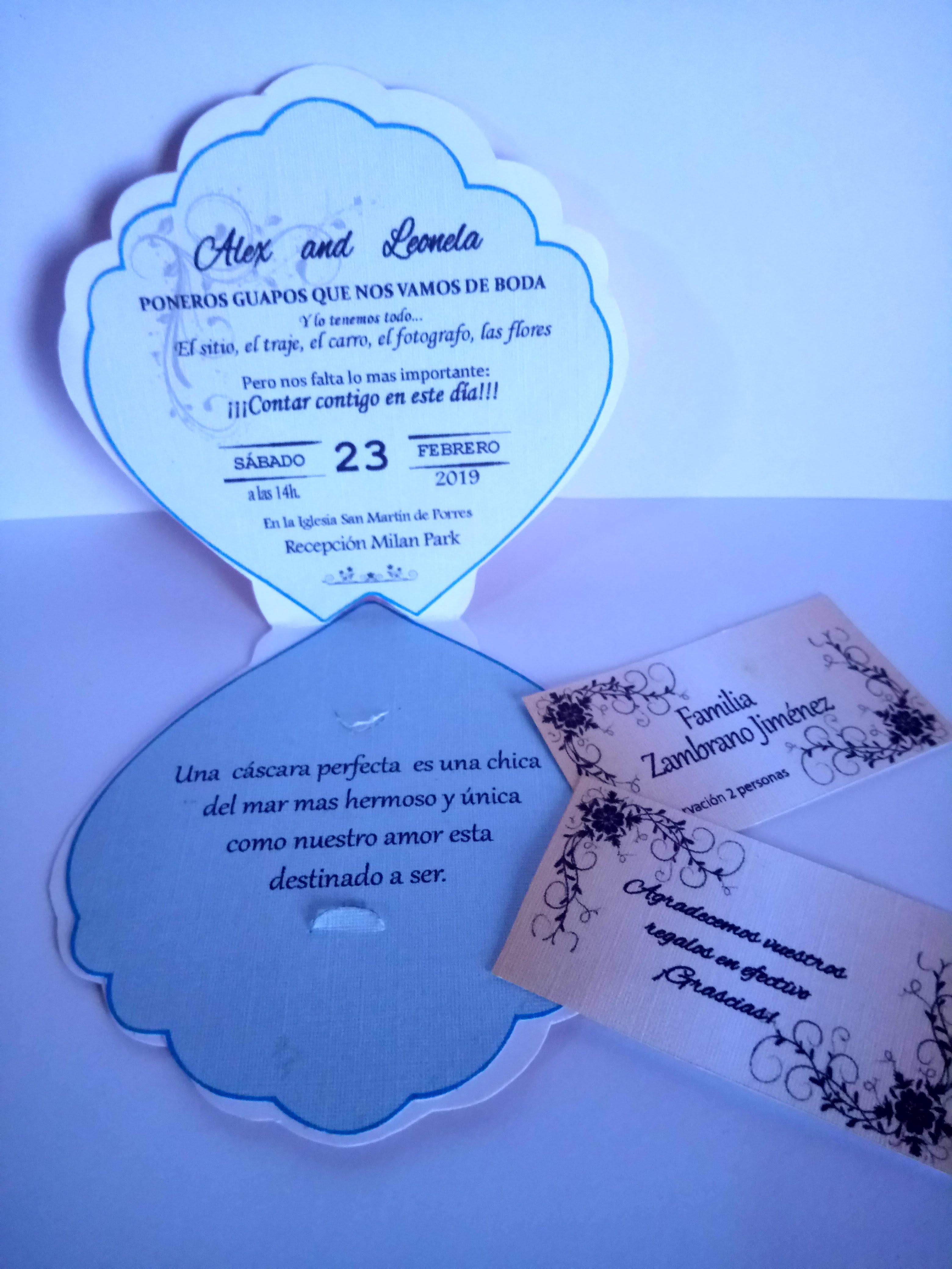 Pin En Tarjetas De Invitacion