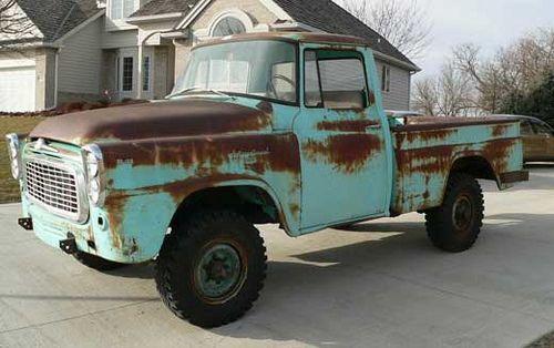 1960 International 4x4 | vintage 4x4 trucks | International