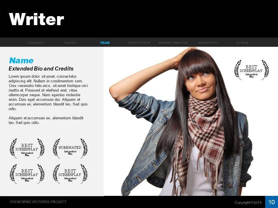 Feature Film Pitch Deck | Feature film, Deck, Film