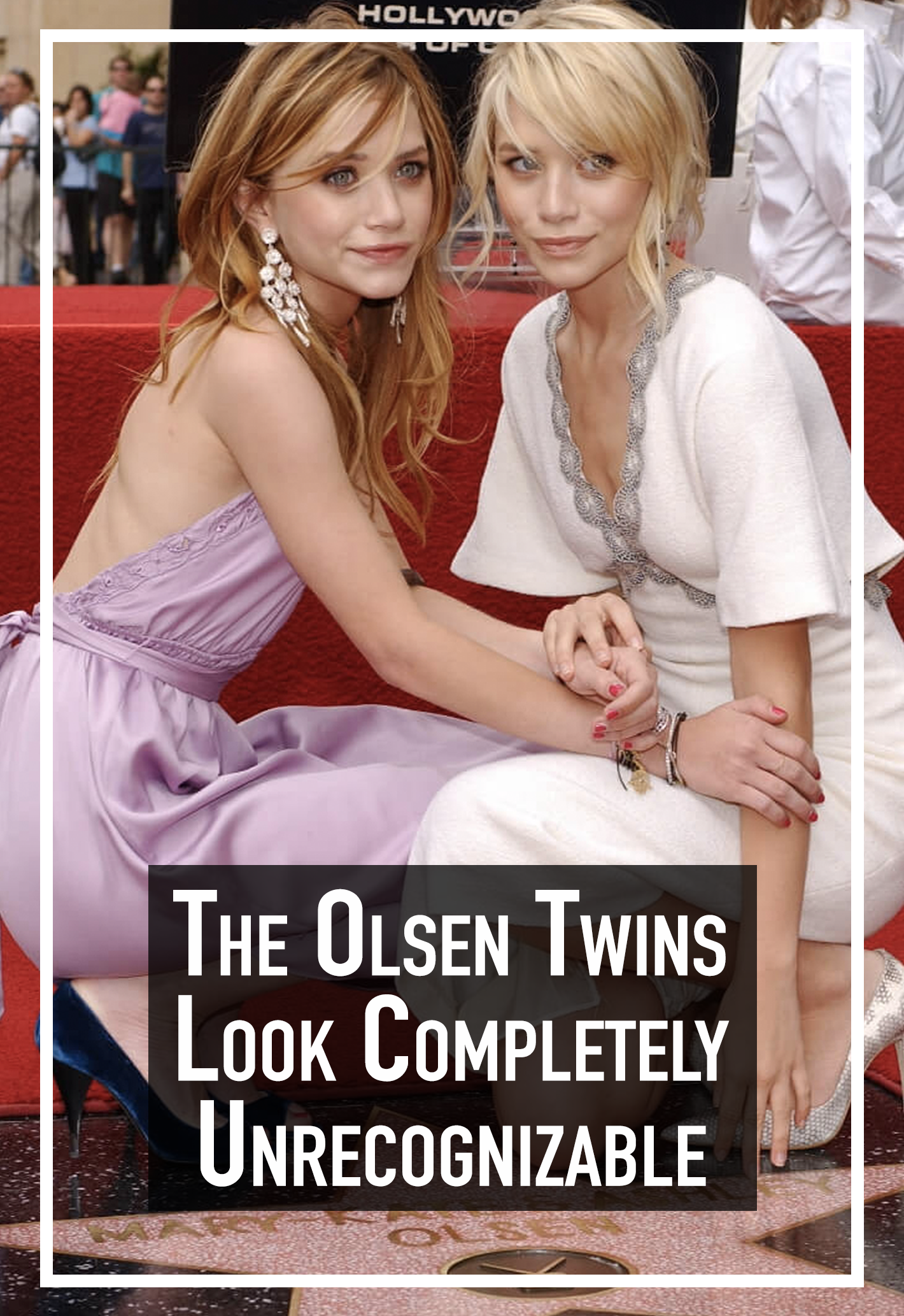 Photo of The Olsen twins look completely unrecognizable