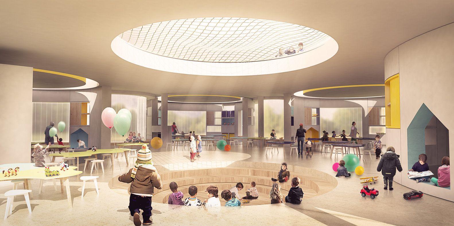 Galería de FP Arquitectura, primer lugar en concurso Ambientes de Aprendizaje del siglo XXI: Jardín Infantil Tibabuyes - 2