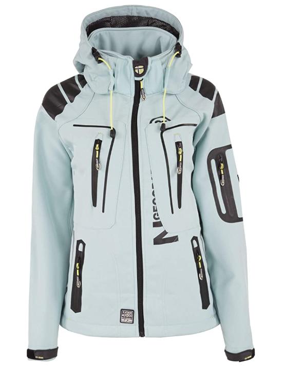 Chaqueta mi Sofshell mi polar totalmente con capucha para mujer disponible en 3 colores Geographical Norway modelo Rihana Lady S-XXL