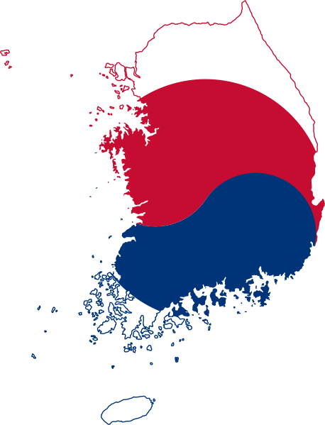South Korea South Korea Flag Korea Map South Korea