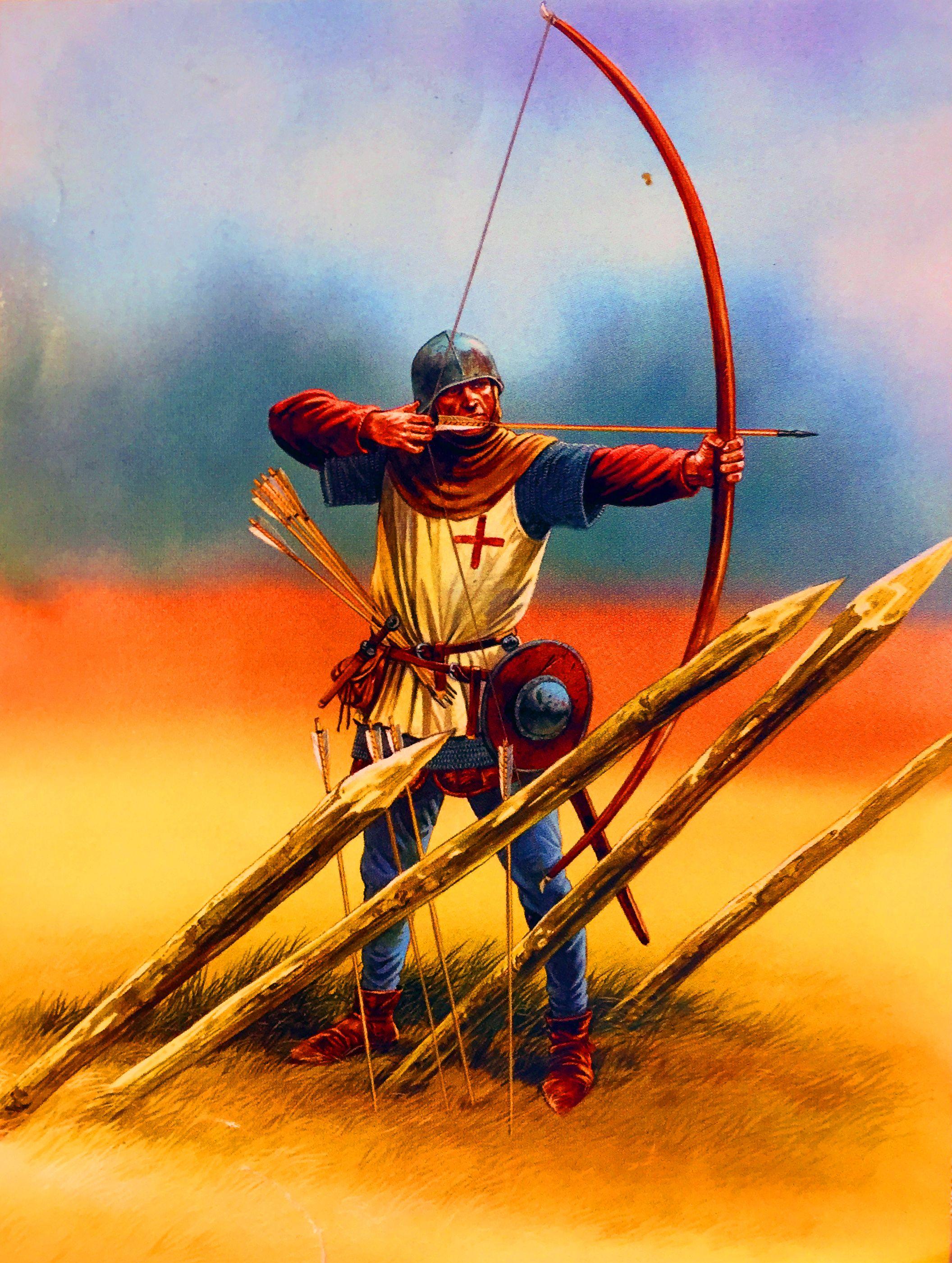 english longbowman hundred years war hundred years war