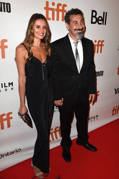 Serj Tankian con bello, Moglie Angela Madatyan