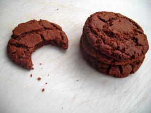 Veganized gingerbread cookies
