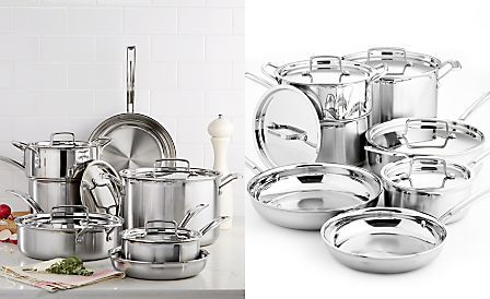 Cuisinart Multiclad Pro Tri Ply Stainless Steel 12 Piece Cookware Set