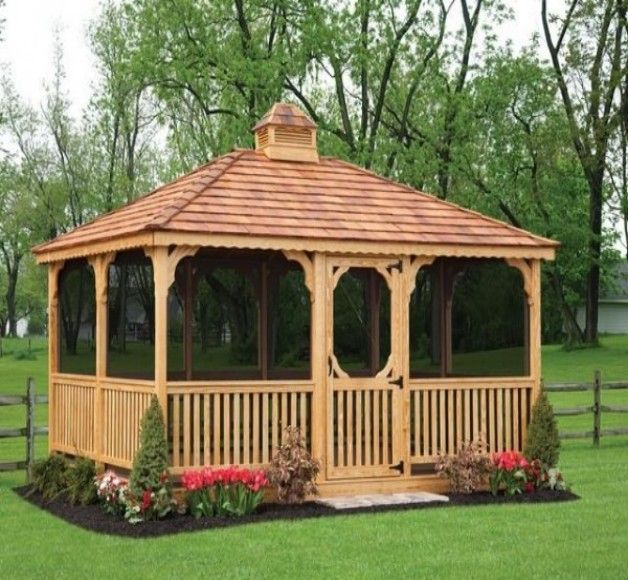 Rectangular Gazebo Plans Gazebo Plans Rectangular Gazebo Screened Gazebo