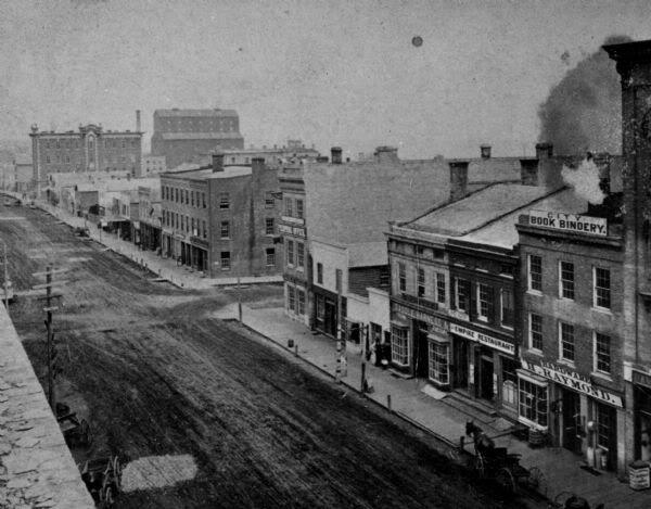 City Of Racine Wisconsin In The 1800 S Racine Wisconsin Historical Society Wisconsin