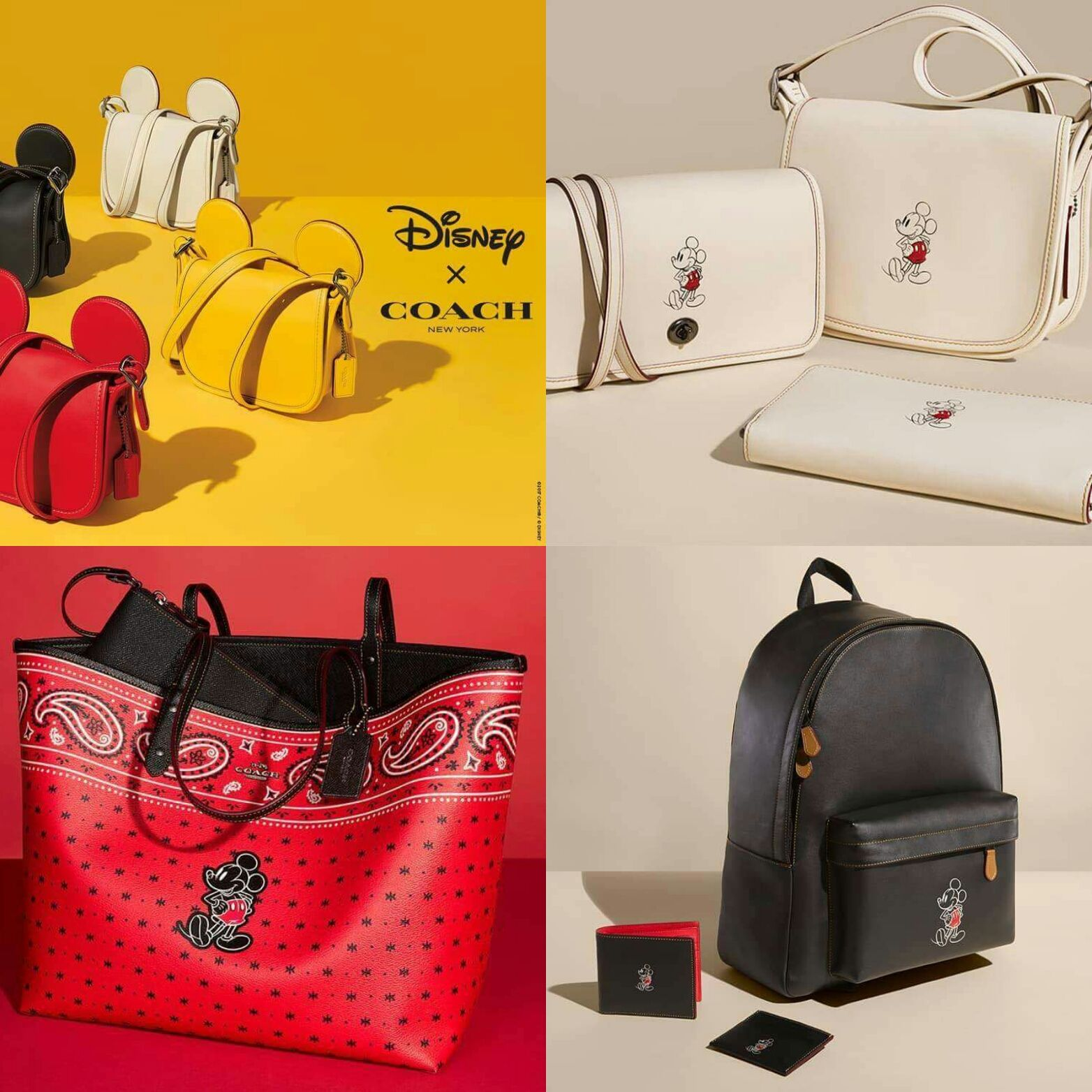 58d1cab18f5 Disney x Coach  Outlet Edition to Be Released May 15th!   Twinning ...