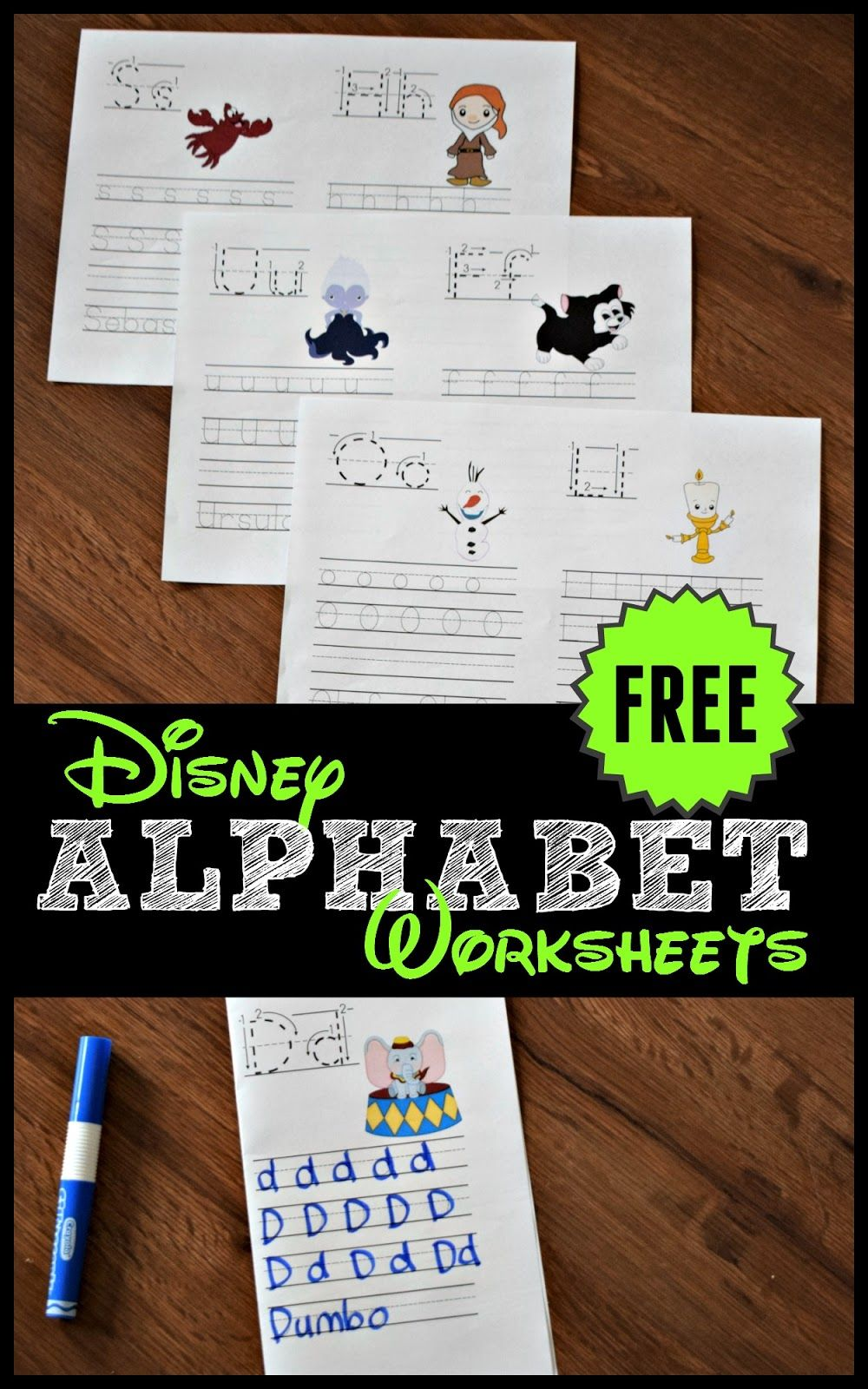 Free Disney Alphabet Coloring Pages Free Preschool Printables Disney Alphabet Printable Preschool Worksheets [ 1600 x 1000 Pixel ]