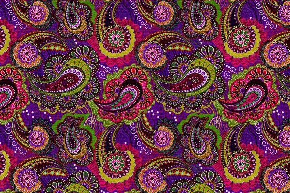 Paisley seamless pattern. Patterns