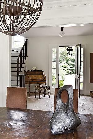 Julie Hillmand Design Dining Room Via Belle Vivir Blog  Hallways Adorable Dining Room In Entryway Decorating Inspiration