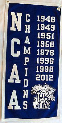 kentucky wildcats basketball national championship banner
