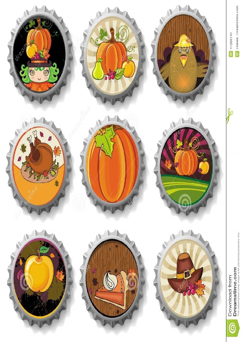 Free Thanksgiving Bottle Cap Images – Best Images Collections HD ...