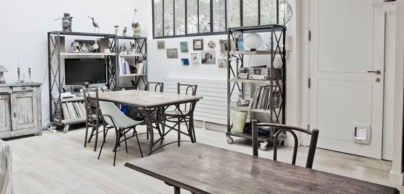 Loft en estilo vintage e industrial Decoración